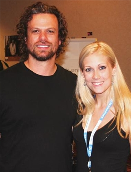 Candice Jarrett with Michael Glabicki from Rusted Root